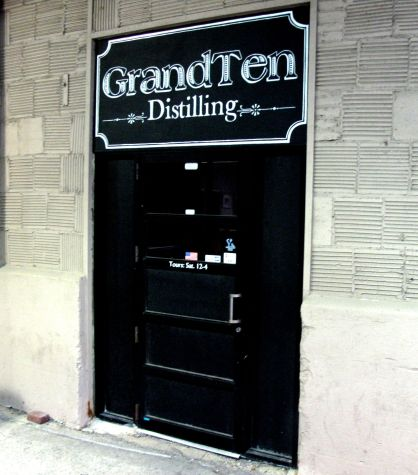 Welcome to GrandTen Distilling! Be sure to stop in for a Saturday tour.