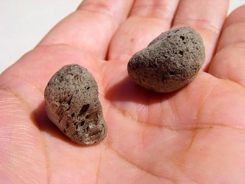 lightest rock, pumice