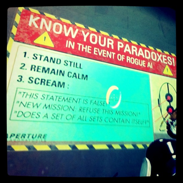 Know your paradoxes!