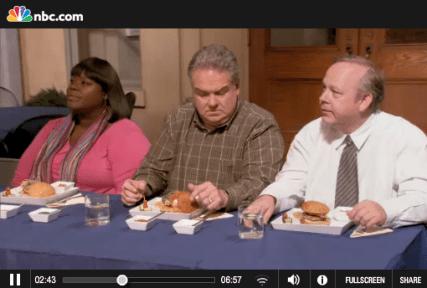 Ron Swanson on food