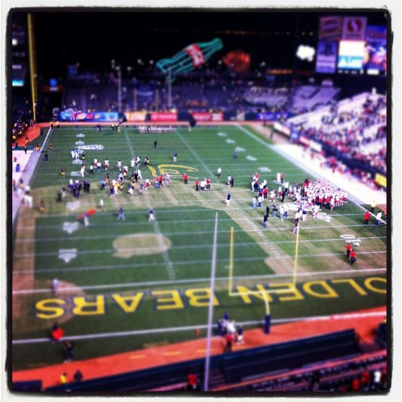 End of game... Long flight back to Utah for the Utes.