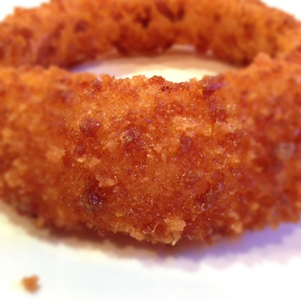 Onion Ring detail.