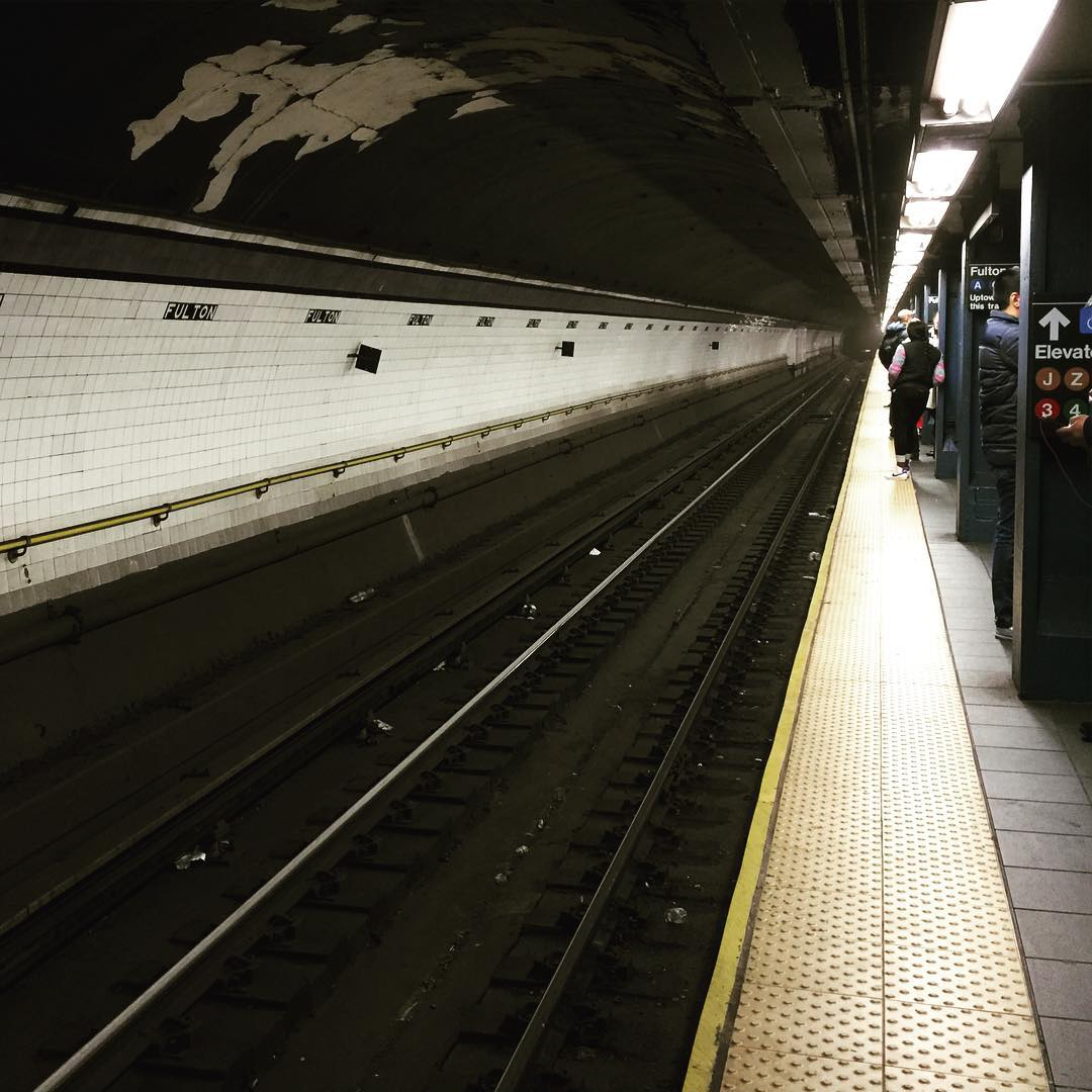 Checked in at MTA Subway - Fulton St (A/C/J/Z/2/3/4/5)