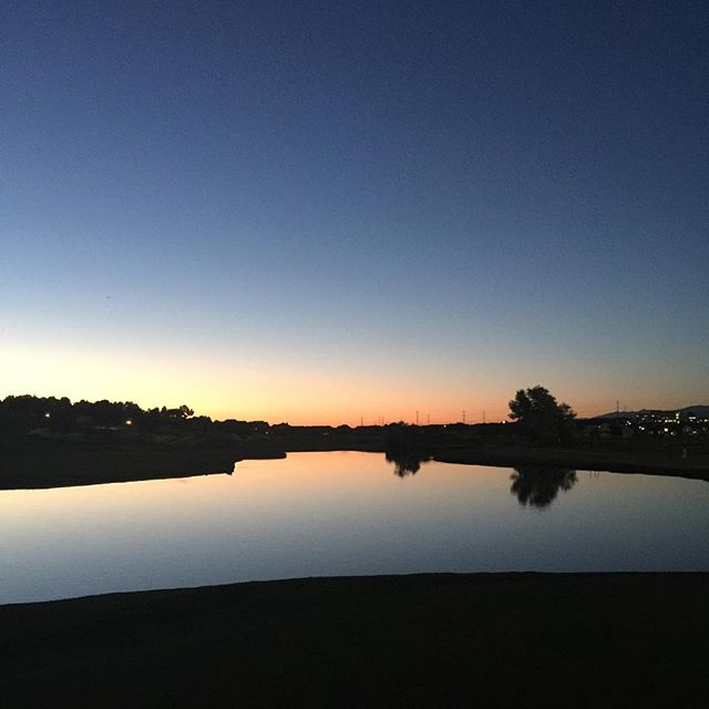 Twilight Golf #nofilter