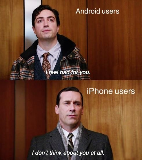 RT @ringer: Android vs. iPhone.…