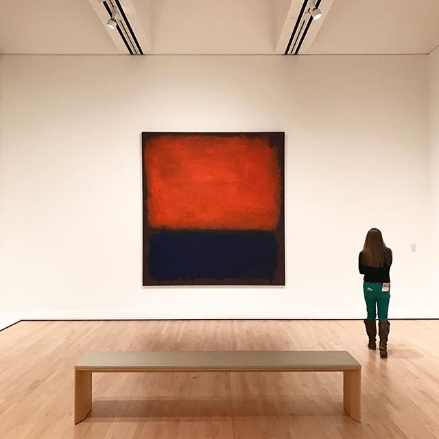 This Rothko + @mbspurlock = ????