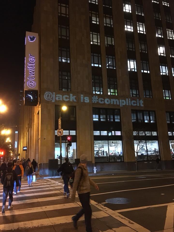 RT @angsebastiana: Twitter HQ tonight…