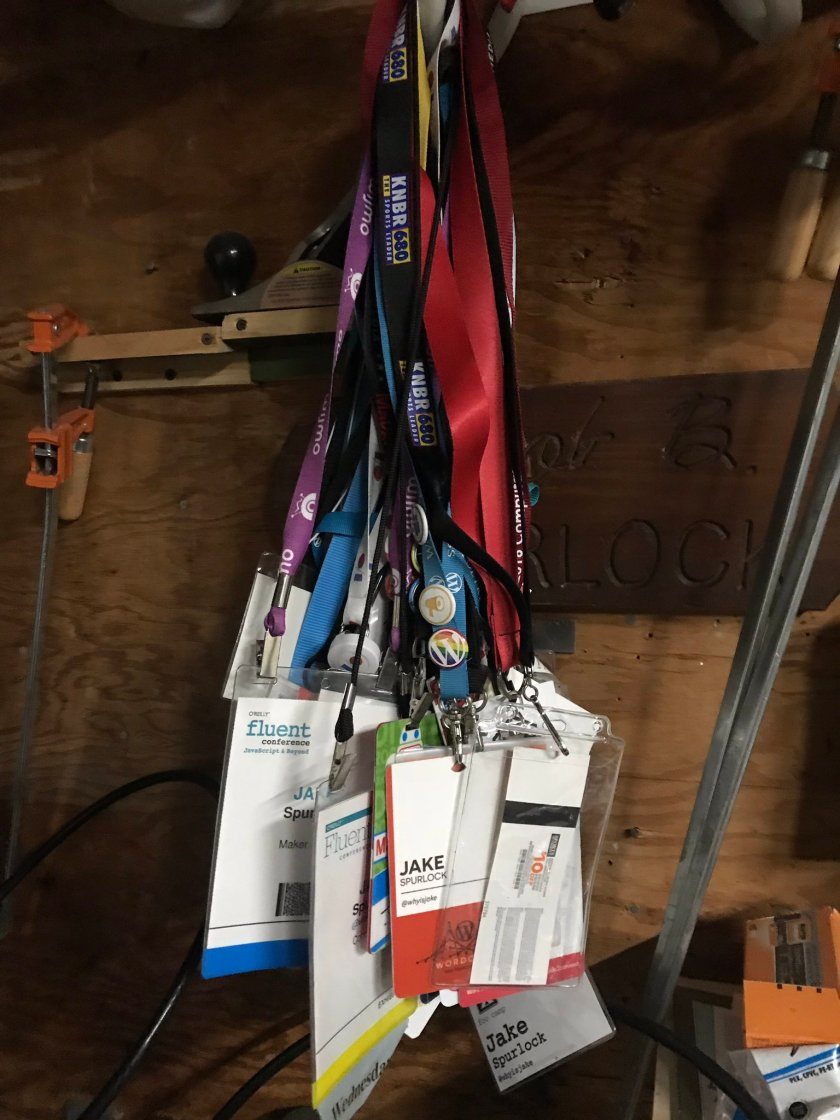 Pretty good lanyard collection over…