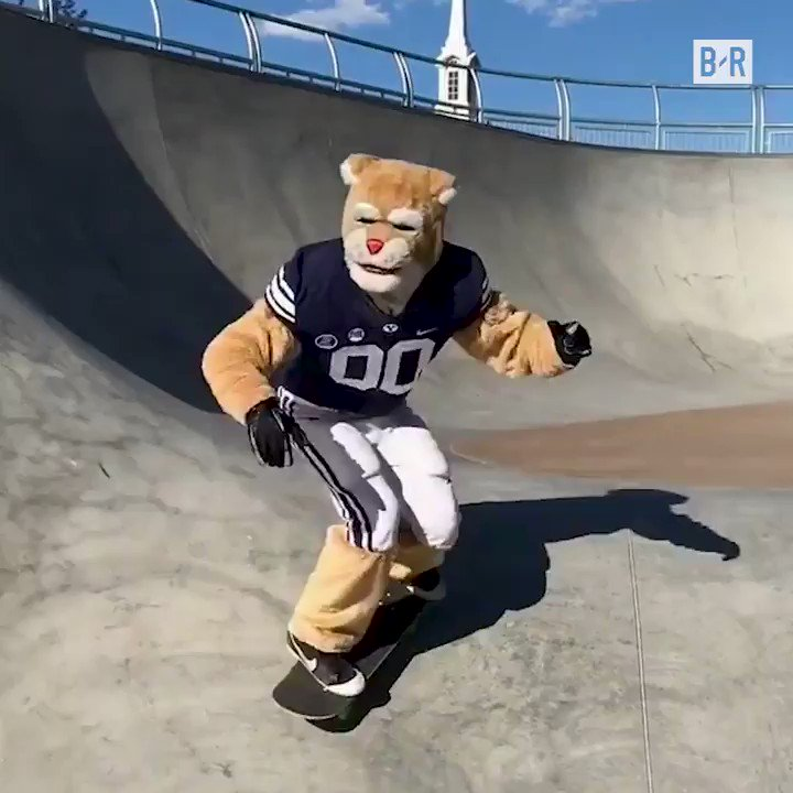 RT @BleacherReport: Cosmo, the BYU…