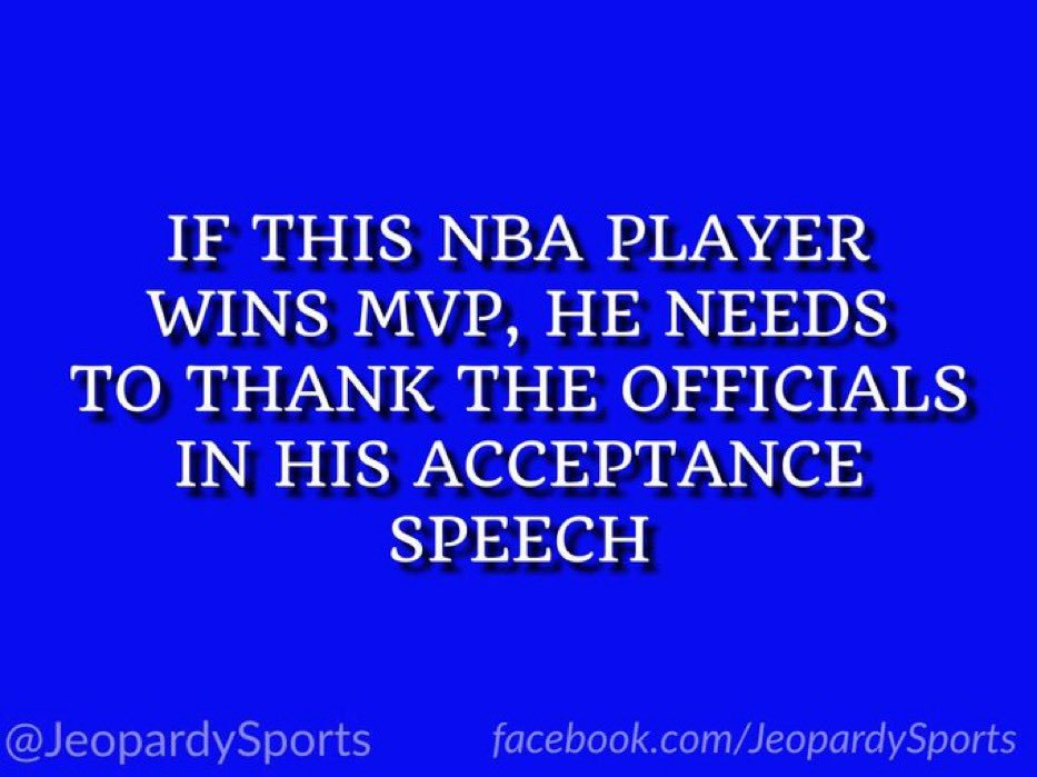 "RT @JeopardySports: ""Who is: James…"