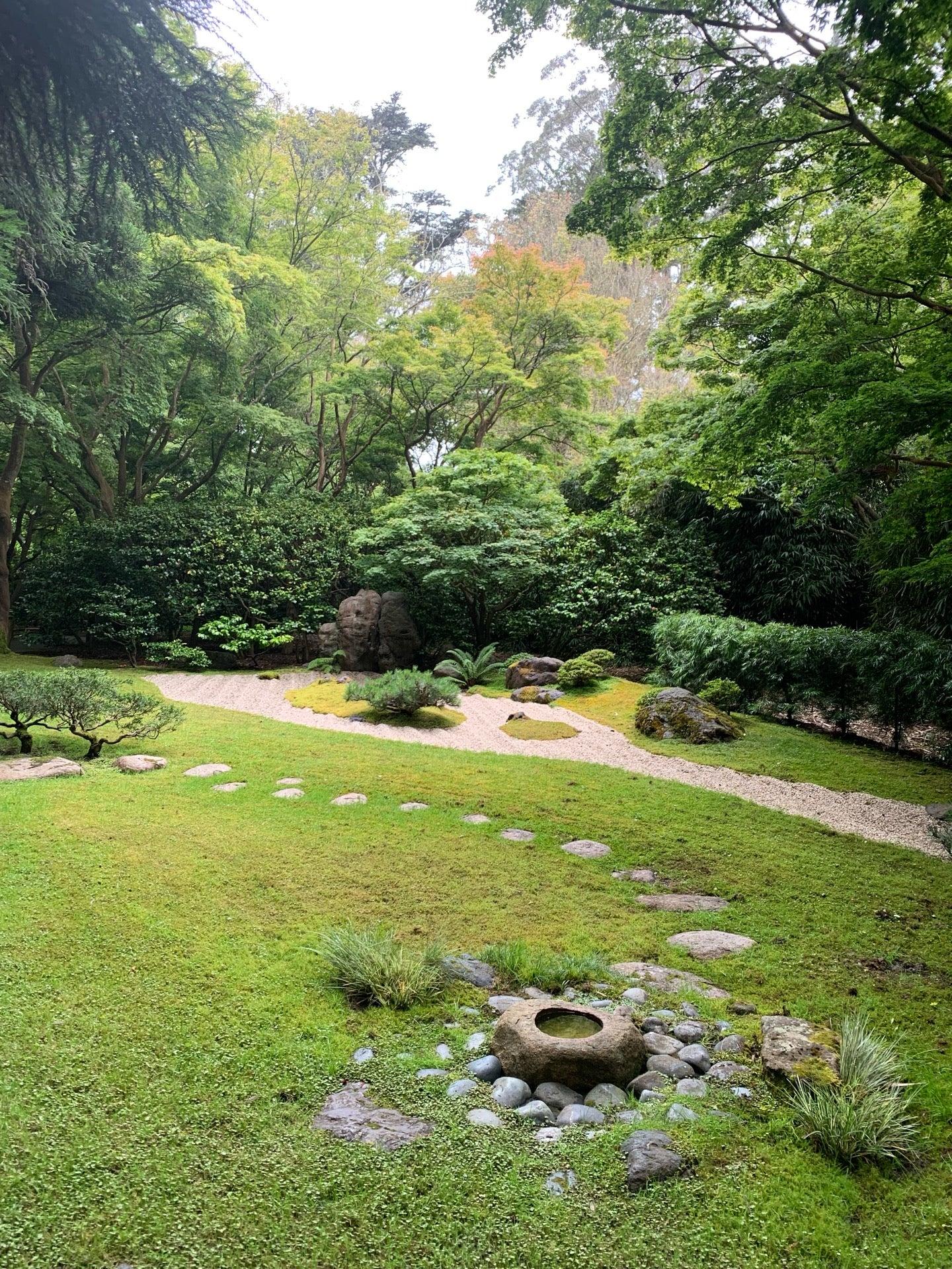 Checked in at Japanese Tea Garden