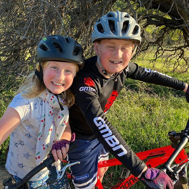 Rush got a new bike, and Hailey's new favorite thing is mountain biking...