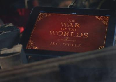 """War Of The Worlds"" iPad Commercial"