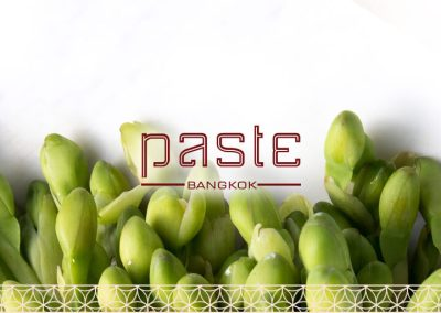Paste Bangkok, Website Redesign 2018