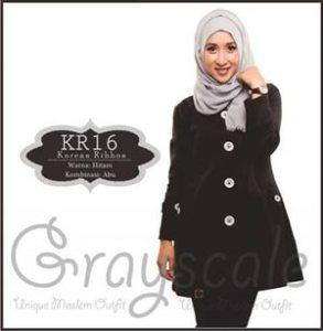 jaket terbaru wanita muslimah korea  R (16)