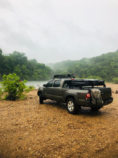 A quick stop at the Current River