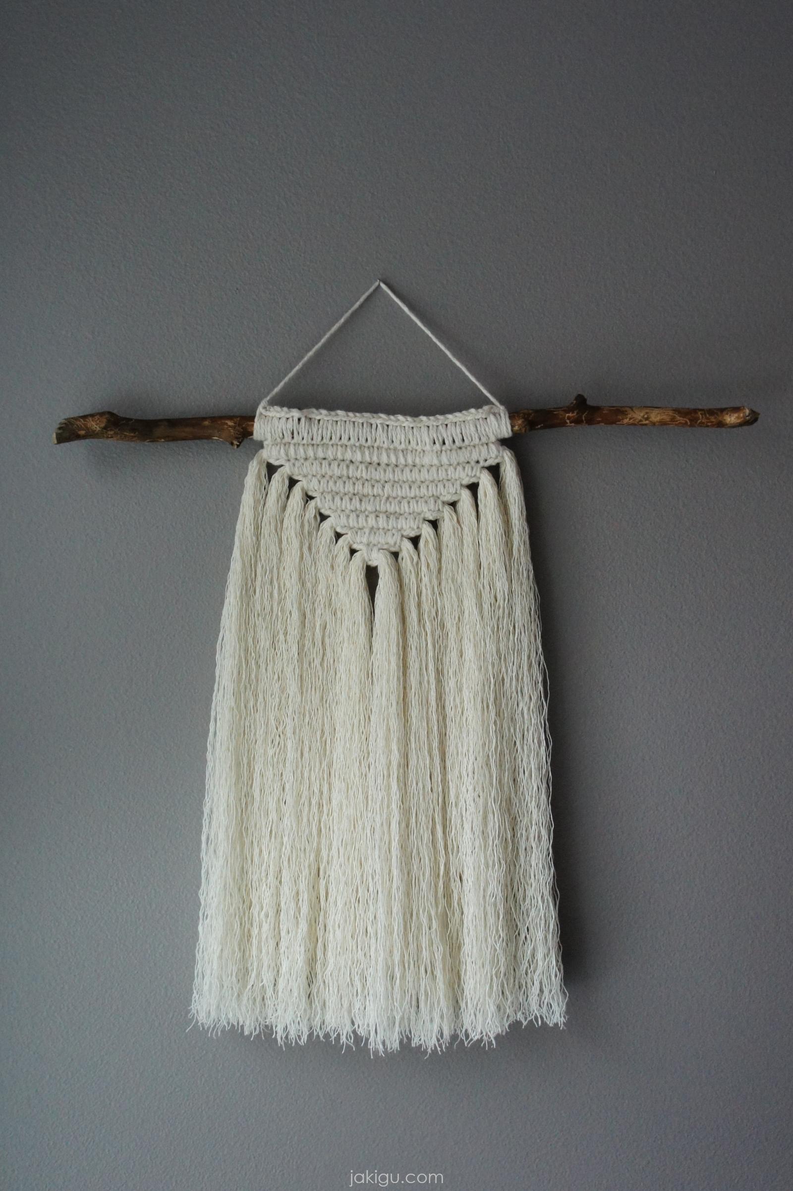 Macrachet wall hanging | jakigu.com