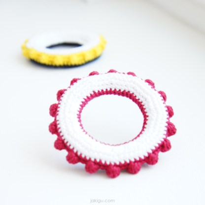 Tactile Toy | jakigu.com crochet pattern