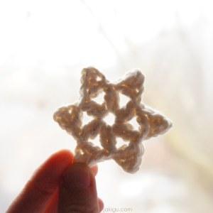 crochet snowflake | free jakigu.com crochet pattern