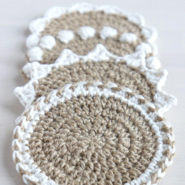 jakigu.com instalinks | crochet coaster set