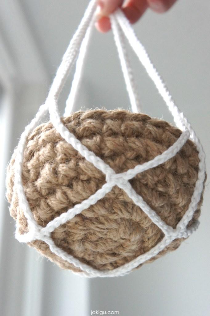crochet chain net | jakigu.com