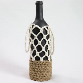 Bottle Carrier Crochet Pattern VODA by jakigu.com