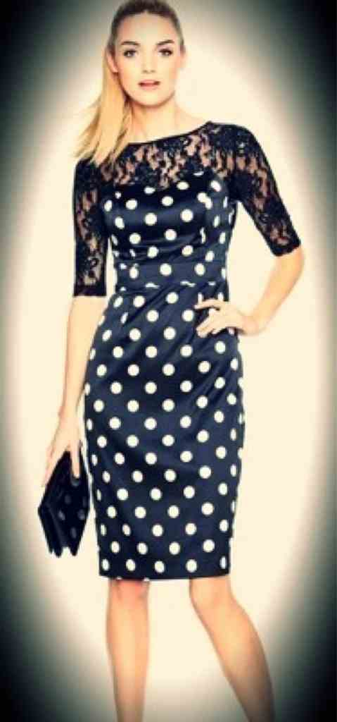 Dotty for the dress…