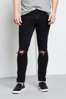 Only & Sons Warp Black Jeans