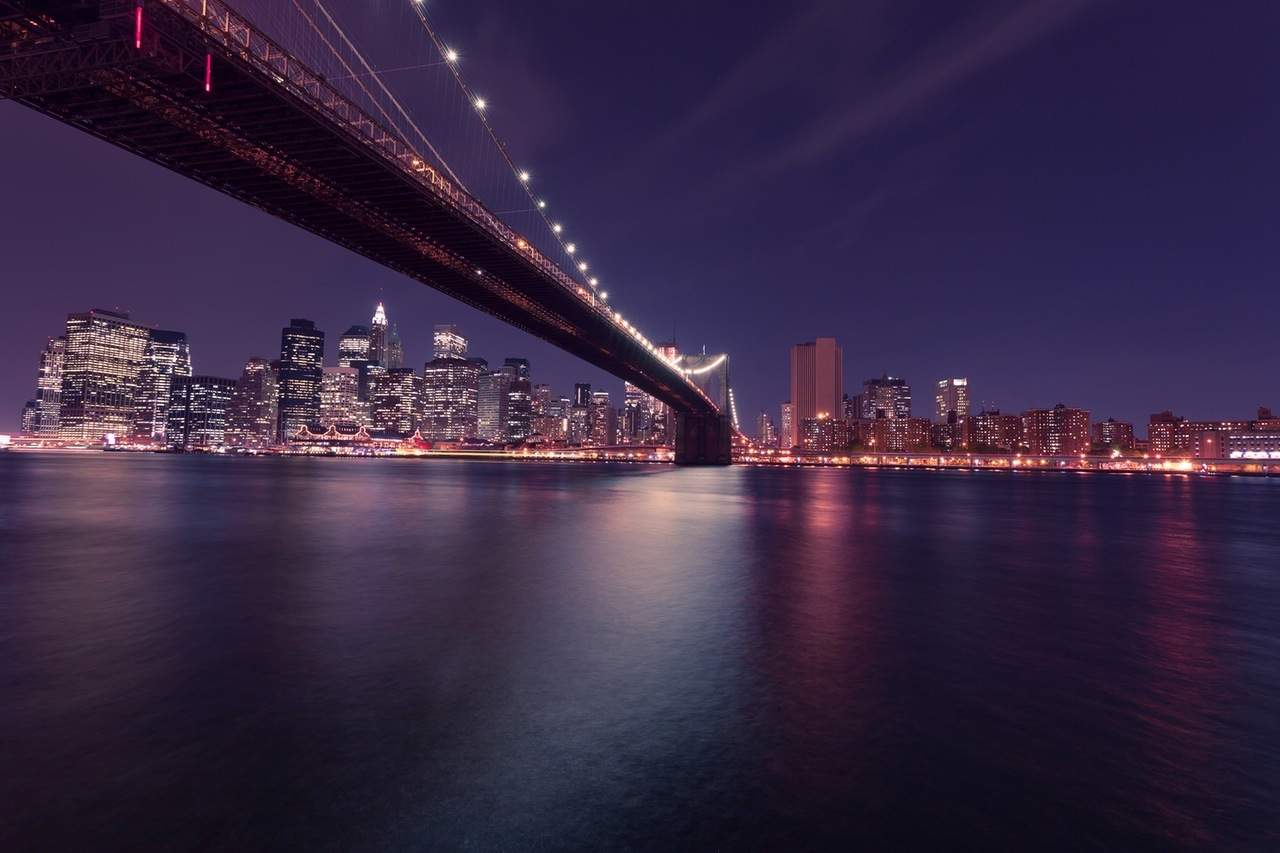 city-landmark-lights-night