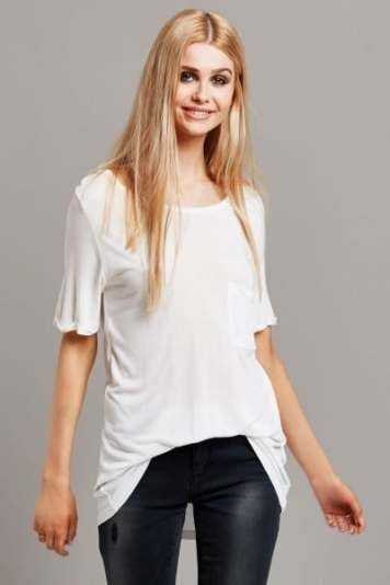 Vila Gyras Scoop Neck T-shirt
