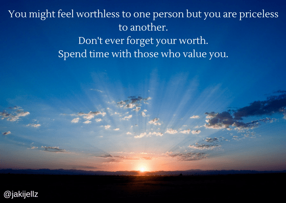 Don't Forget Your Worth - Wednesday Wisdom 7