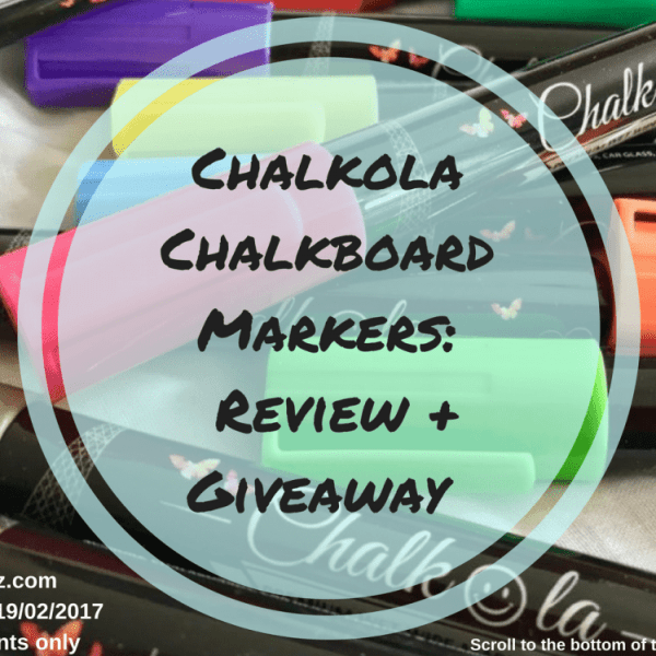 Chalkola Chalkboard Markers- A Review + Giveaway