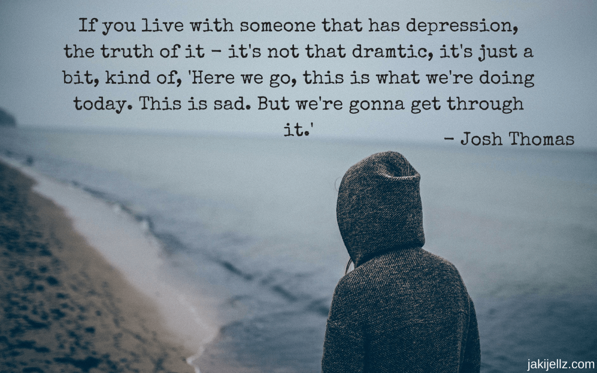 Living with someone with depression