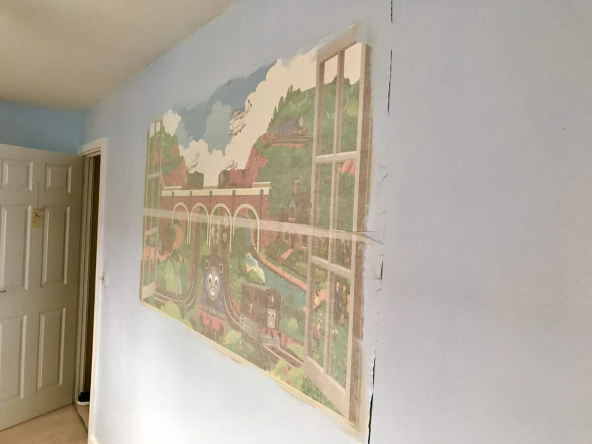 A Little Boy's Bedroom Makeover With Love Sticker