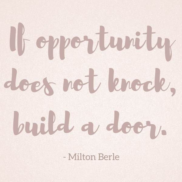 Opportunity - Wednesday Wisdom 31