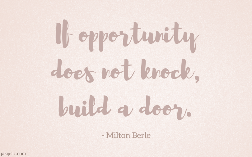 Opportunity - Wednesday Wisdom 31
