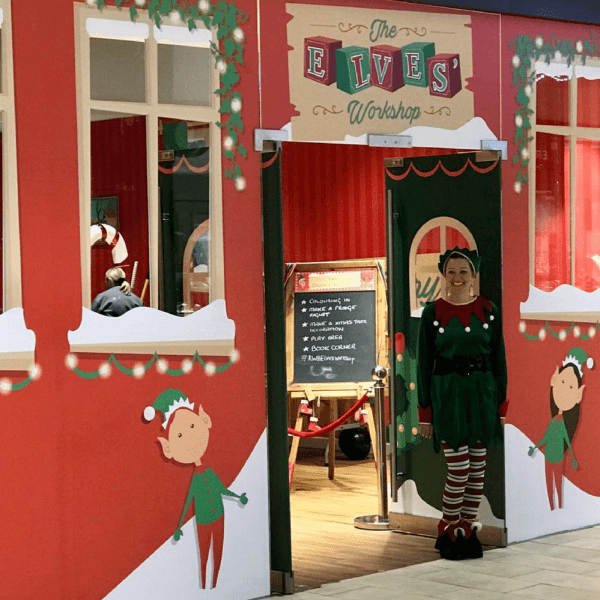 Find Your Festive At Resorts World, Birmingham - The Elves' Workshop