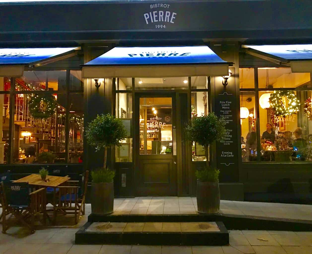 Dinner For Two At Bistro Pierre