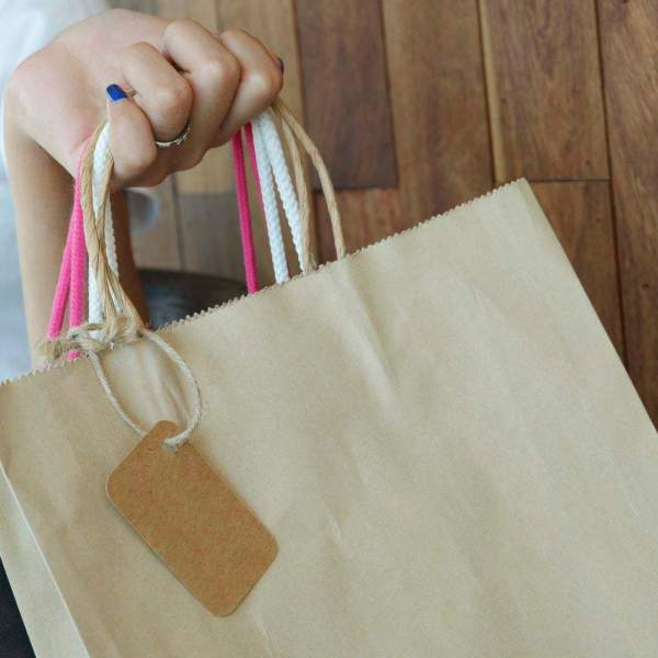 shopping bags from savvy sales shopping