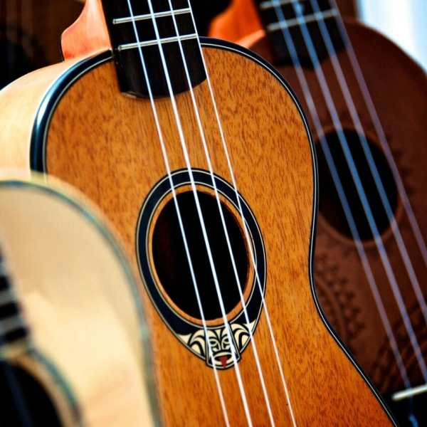Close up of a ukulele for the article 5 Ways That Music Can Help With Your Child's Development