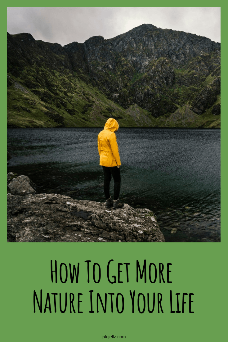 How To Get More Nature Into Your Life