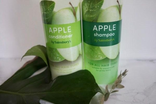 Sainsbury's, Sainsbury's szampon i odżywka |zielone jabłko, Jak naturalnie