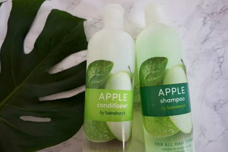 Sainsbury's shampoo and conditioner
