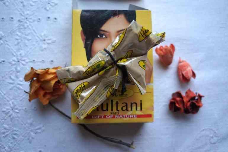 Żółta glinka Multani Mati