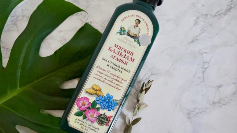 Receptury Babuszki Agafii, Balsam do włosów zniszczonych