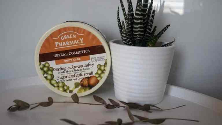 Green Pharmacy: Pelling z masłem shea i zieloną kawą