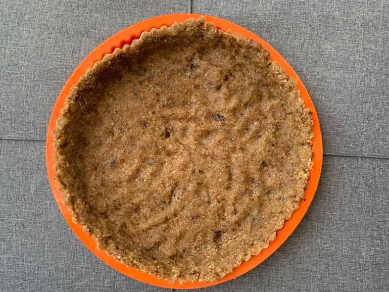 ciasto, Ciasto wegańskie  z owocami, Jak naturalnie