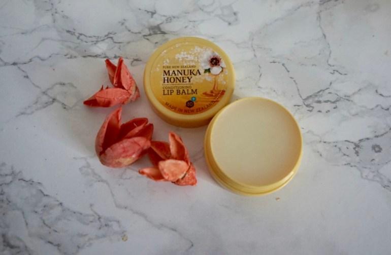 Wild Ferns Manuka Honey balsam do ust