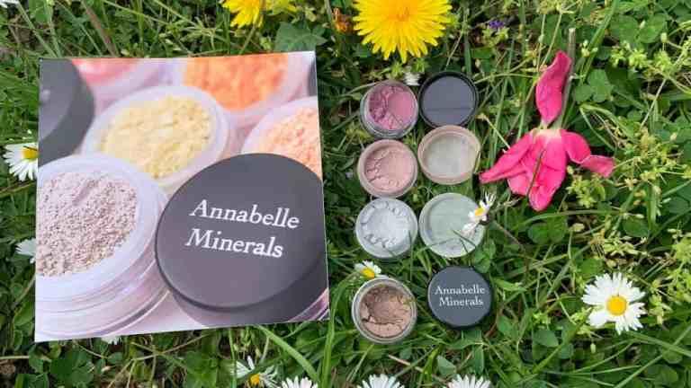 Annabelle Minerals, cienie mineralne | swatche i opinia