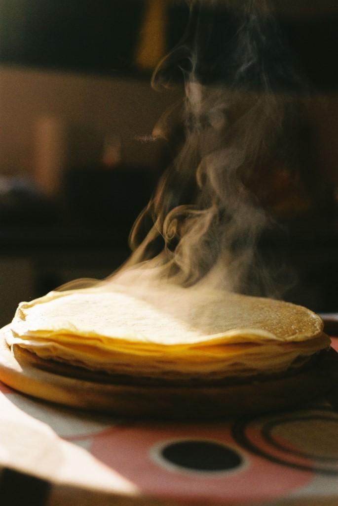 Pudding pancakes